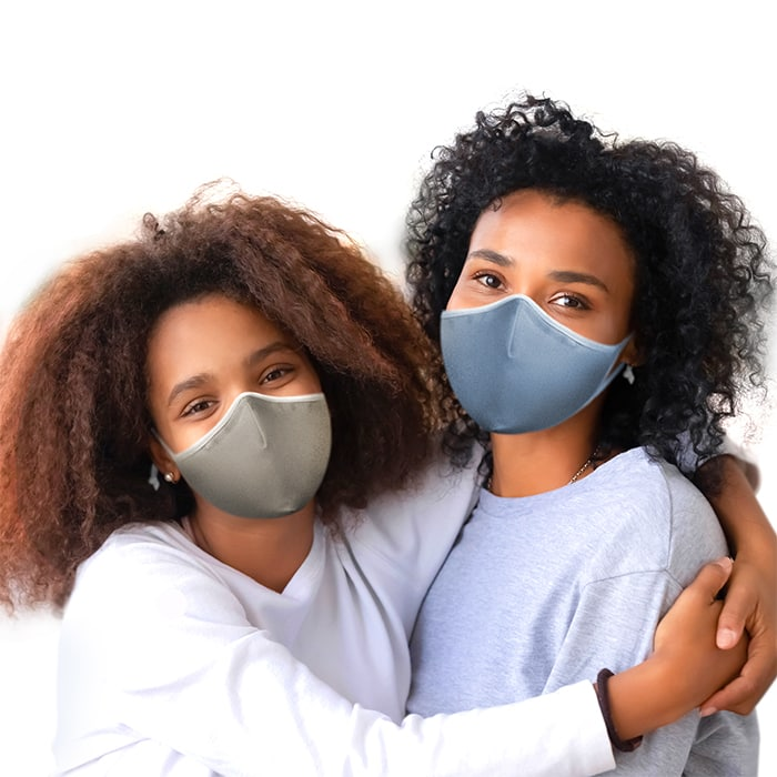 SoClean Face Mask 3-Pack: Youth/Small Size, Sand/Sky/Pewter | SoClean, the Makers of Health Technology Equipment
