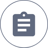 Cefaly clinically proven clipboard icon