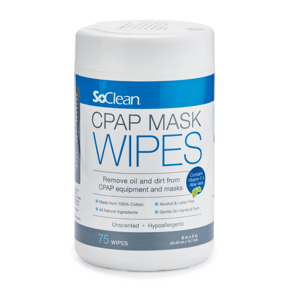 Unscented Wipes  | SoClean - Fast and Easy Sleep Equipment Maintenance | SoClean US