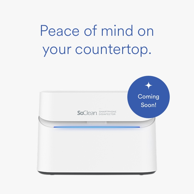 SoClean O₃ Smartphone Disinfector™