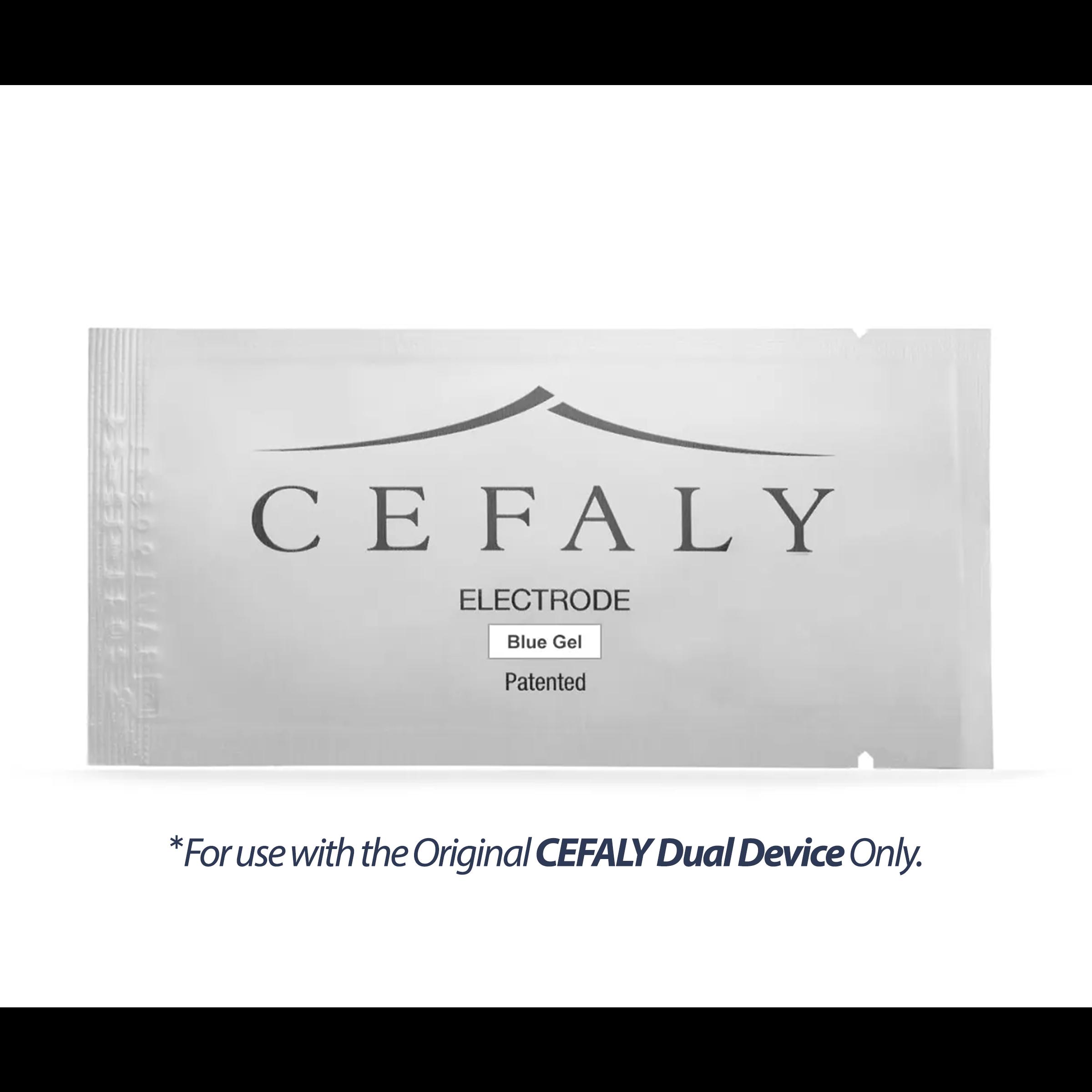 Cefaly Blue Gel Electrodes - Kit of 3