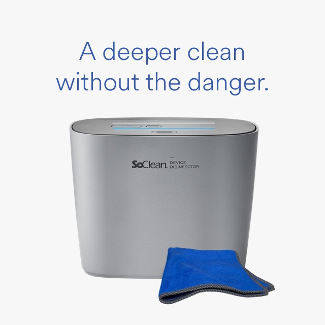 SoClean O₃ Smarthome Cleaning System™