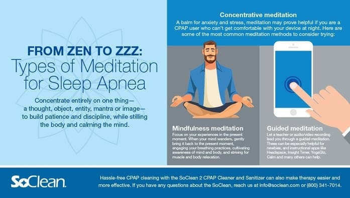 Featured Article Image: Meditation to Fall Asleep: Tips and Resources for Sleep Apnea