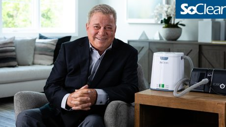 Featured Article Image: William Shatner Announced as SoClean Spokesperson and Ambassador