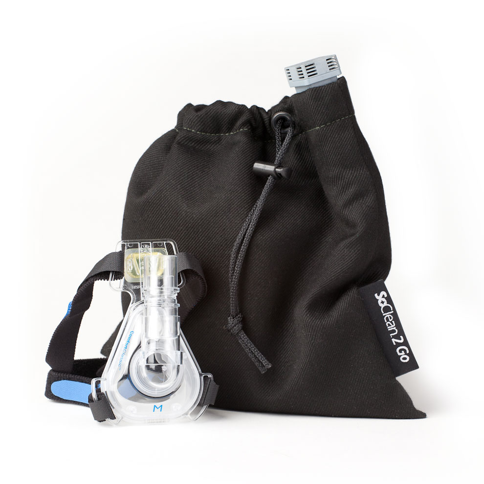 CPAP mask and SoClean 2 Go