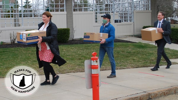Article Image: masks-for-new-hampshire-continue-deliveries-to-nh-healthcare-organizations