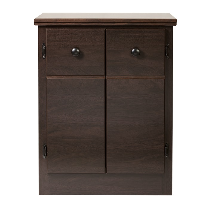 Mahogany Nightstand | SoClean Mahogany Sleep Equipment Nightstand