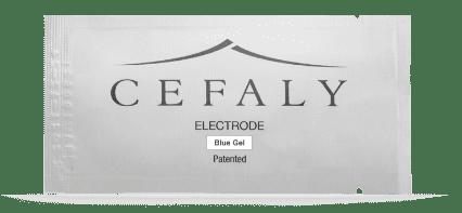 Cefaly 1 Blue Gel Electrodes - Kit of 3